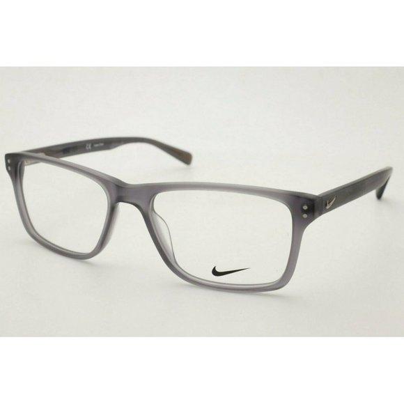 Nike Eyeglasses NK 7246 034 Gray Eyeglasses 54mm